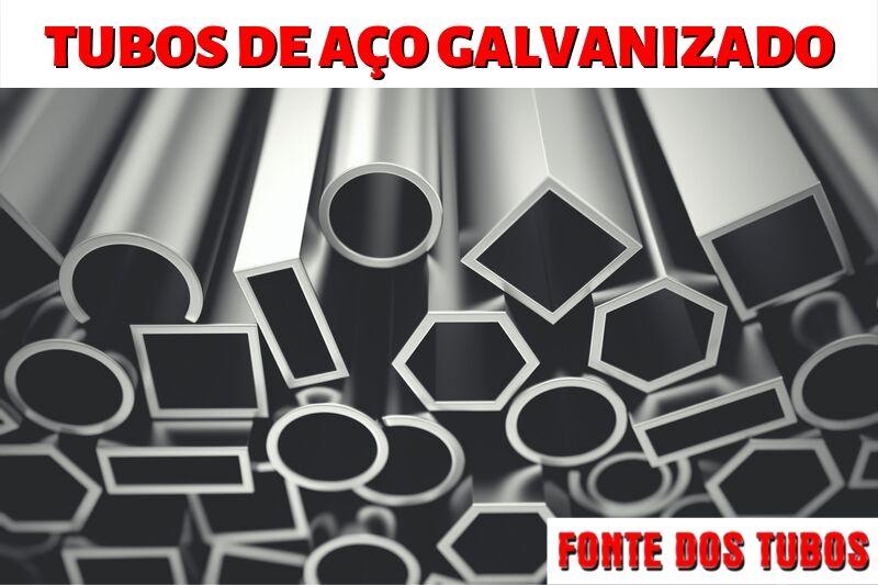 Tubos de Aço Galvanizado São Paulo